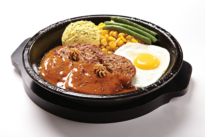 4-Double-Beef-Hamburg-w-Egg-(brown-sauce)-w-butter